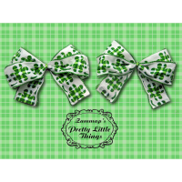 Large Shamrock bow