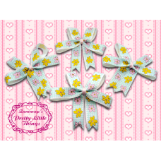 fat cartoon flowers bow