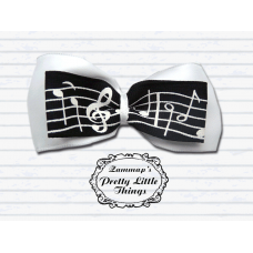 Small music note bow