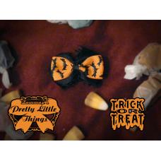 Small Halloween Bat Bow