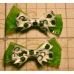 Dark Shamrock Bow