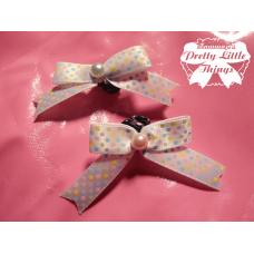 Tiny cute Clasp bow