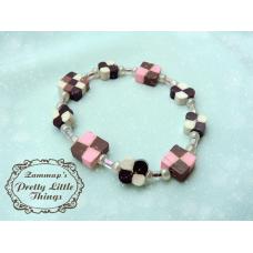 Cake squares bracelet