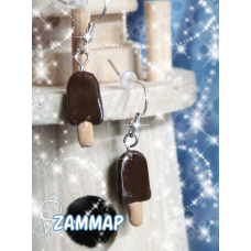 Fudge Pop Icecream Earring