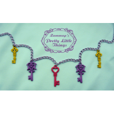 Pastel key Necklace