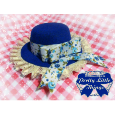 Blue Rose hat