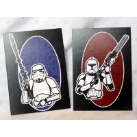 Trooper two pack cards